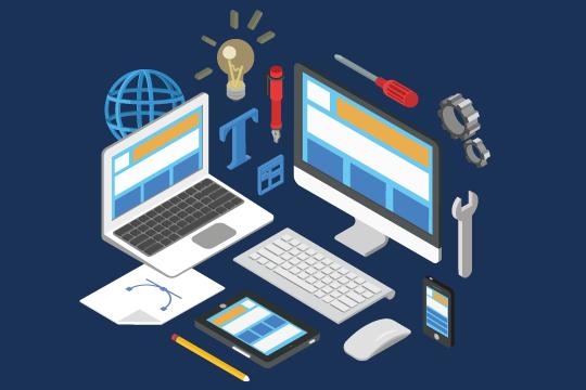 Dienstleistung - Erstellung von Webseiten