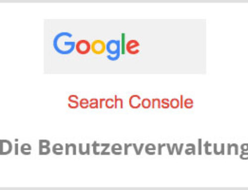 Wie füge ich einen Benutzer beim Google Webmaster Tool hinzu?