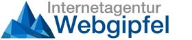 Logo Internetagentur Webgipfel für SEO und Wordpress Webdesign im Allgäu