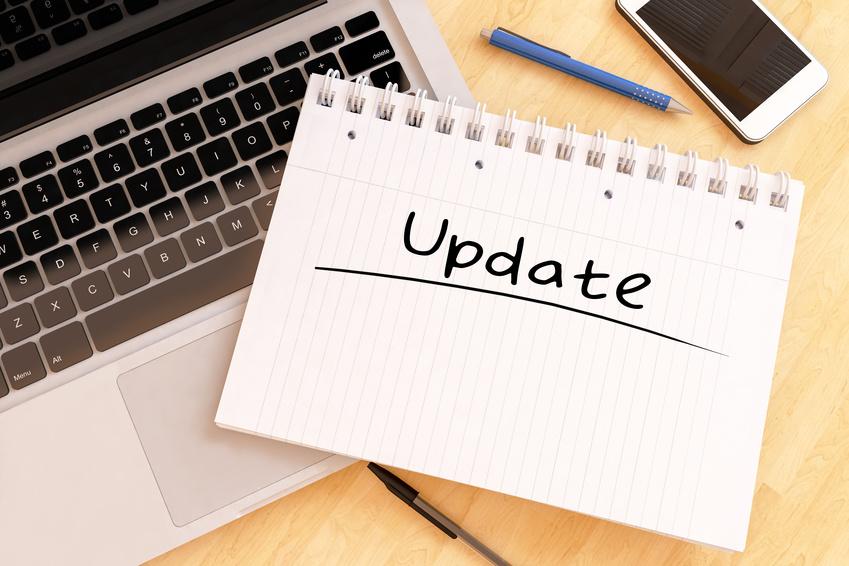 Wordpress Wartung durch Update
