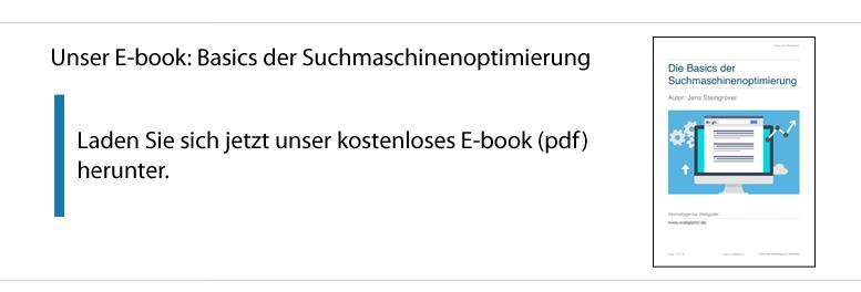 E-book Suchmaschinenoptimierung