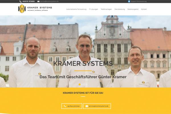 Referenz - Kramer Systems GmbH