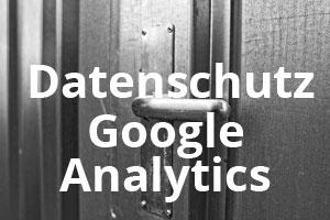 DSGVO - Google Analytics einbauen