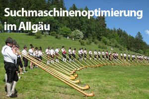 Suchmaschinenoptimierung Allgäu