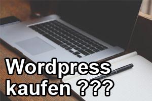 Wordpress kaufen - Wie geht das?