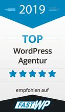 Top WordPress Agentur auf fastwp.de