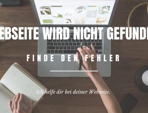 Webseite wird nicht gefunden: Mögliche Ursachen und Lösungen
